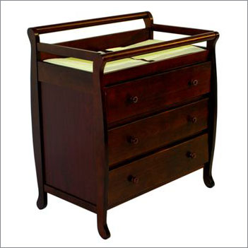 Dream On Me 601C Emily Changing Table in Cherry