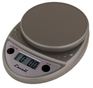 Escali P115PL-M Primo Digital Scale - 11 Lb - 5 Kg - Metallic Gray