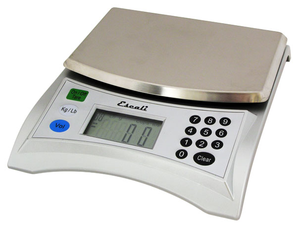 Escali  V136 Pana Volume Measurement Scale - 13 Lb - 6 Kg