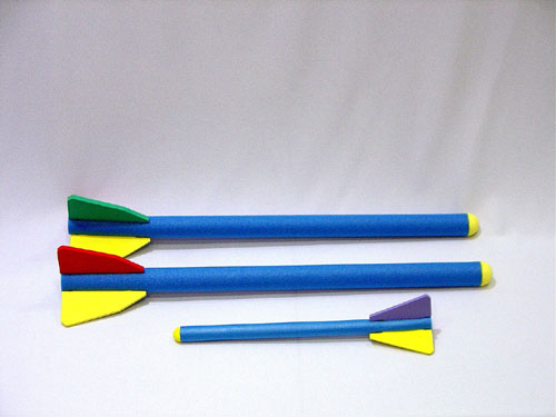 Everrich EVV-0006 Foam Rocket - Large - 50 Millimeter x 90 Centimeter