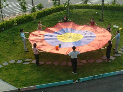 Everrich EVC-0116 Concentric Circles Parachute - 12 Feet