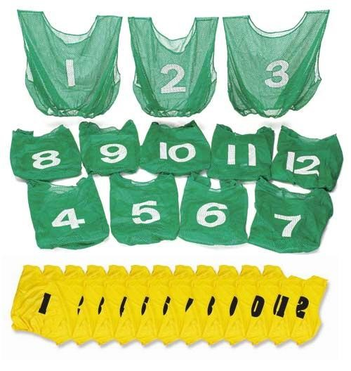Everrich EVC-0084 Numbered Vest Pack - 22 x 20 Inch - Set of 12 EVRR111