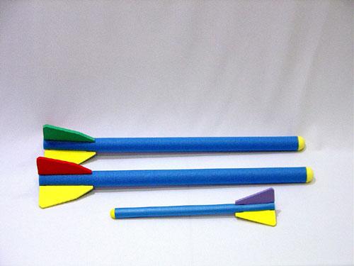 Everrich EVV-0005 Foam Rocket - Small - 30 Millimeter x 51 Centimeter
