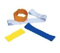 Cando 10-5264 Band Exercise Loop - 15 Inch Long - Blue - Heavy