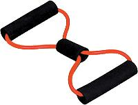 Cando 10-5592 Exercise Tubing BowTie Exerciser - 30 Inch - Red - Easy