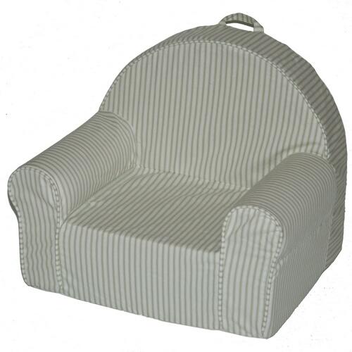 Fun Furnishings 60252 My First Chair - Green Stripe