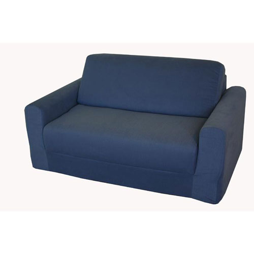 Fun Furnishings 10101 Denim Sofa Sleeper