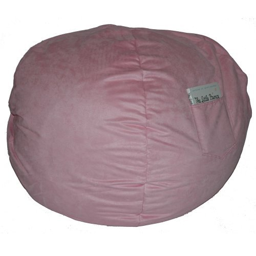 Fun Furnishings 41230 Large Pink Micro Suede Beanbag