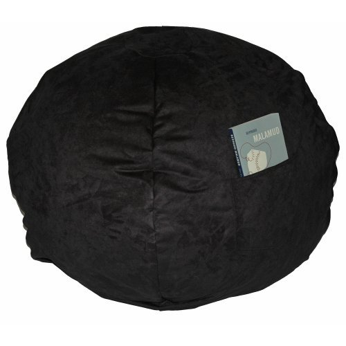 Fun Furnishings 41236 Large Black Micro Suede Beanbag