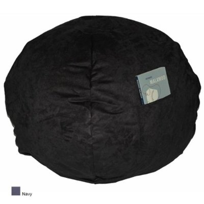 Fun Furnishings 41234 Large Navy Micro Suede Beanbag