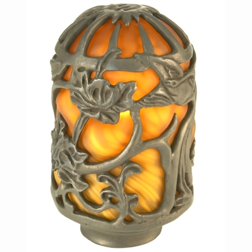 Meyda 21258 Victorian Floral Art Glass Shade