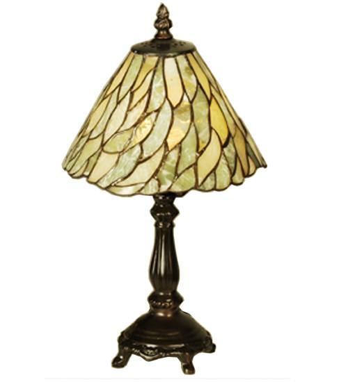 Meyda 103041 Jadestone Willow Mini Lamp