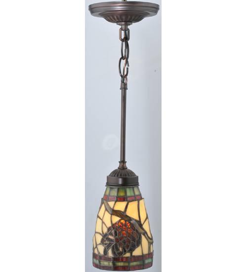 Meyda 106294 Pinecone Dome Mini Pendant Light Fixture