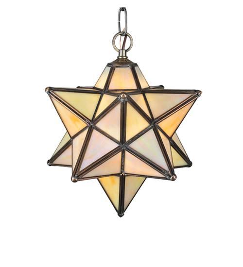 Meyda 12123 Moravian Star Pendant Light Fixture