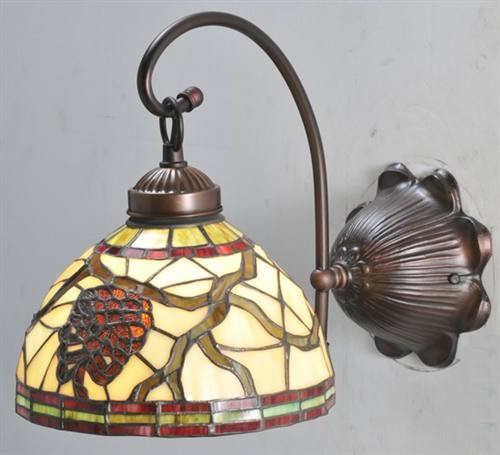 Meyda 106289 Pinecone Dome 1 Light Wall Sconce