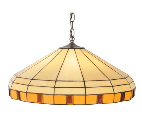 Meyda 99554 Banded Jewel 3 Light Pendant Fixture