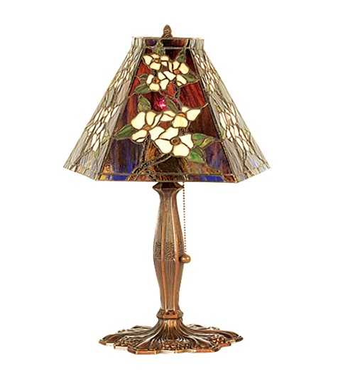 Meyda 81619 Oriental Peony Accent Lamp