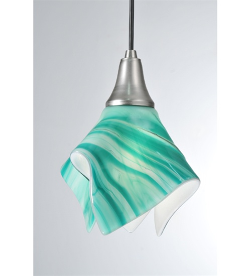 Meyda 99999 Handkerchief Fused Glass Mini Pendant Fixture