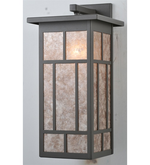Meyda 106533 Wrought Iron 1 Light Wall Sconce