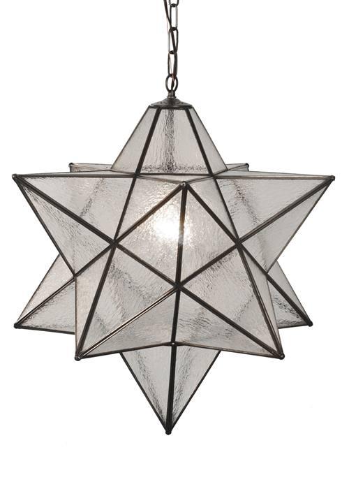 Meyda 81798 Moravian Star Pendant Light Fixture