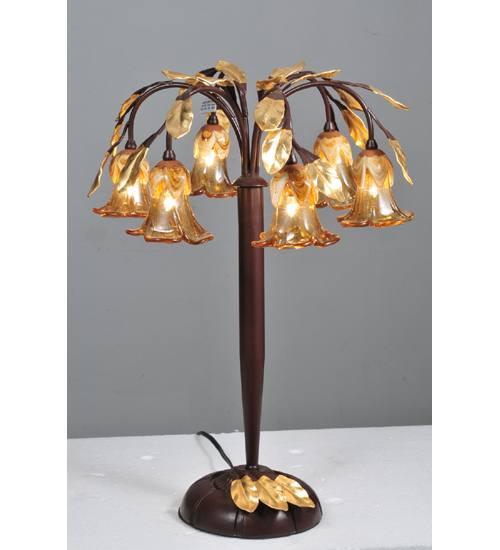Meyda 82761 Celestial Bouquet 6 Stem Table Lamp