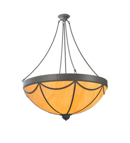 Meyda 98716 6 Light Dome Inverted Pendant Fixture