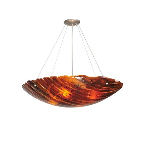Meyda 99537 Torta Fused Glass Pendant Fixture