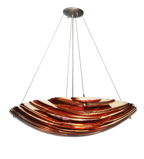Meyda 98207 Marina Fused Glass Pendant Light Fixture