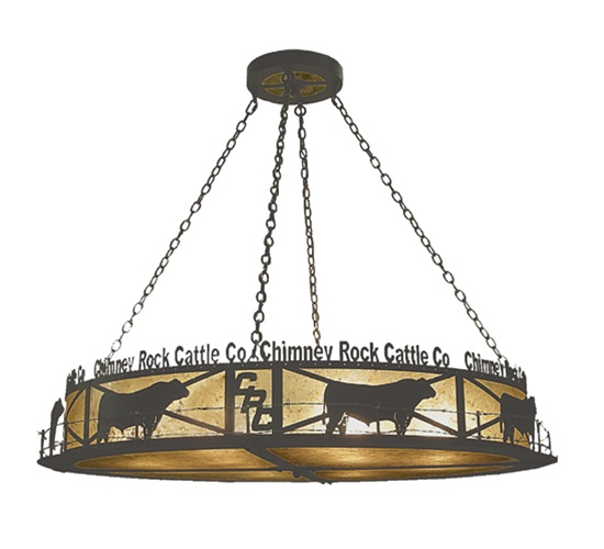 Meyda 73485 Chimney Rock 12 Light Entry Pendant Fixture