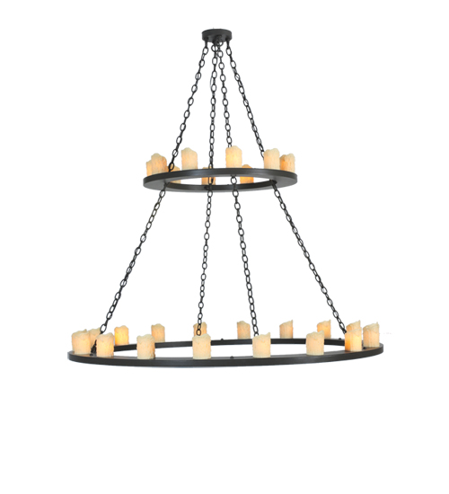 Meyda 105525 Loxley Two Tier Chandelier
