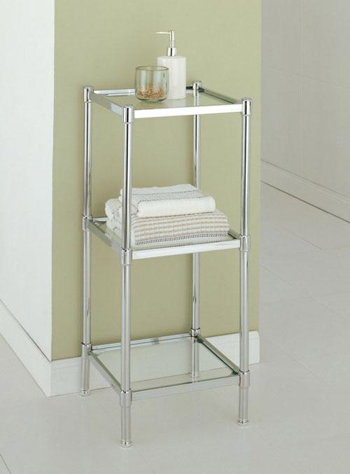 Organize It All 16953 3 Tier Bathroom Shelf