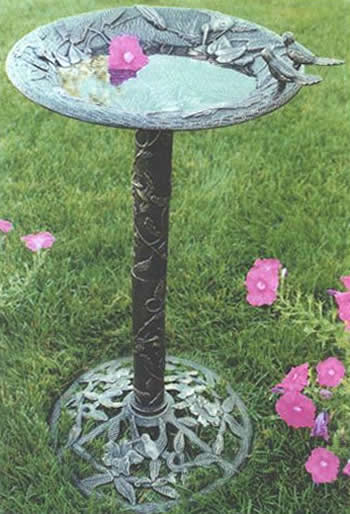 Oakland Living 5131AB  Hummingbird Bird Bath  Antique Bronze