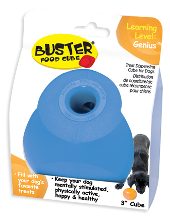 Our Pets 2130010781 Buster Mini Food Cube Dog Toy