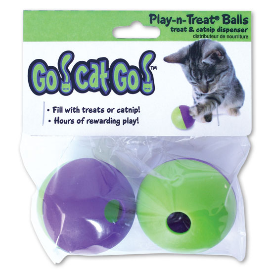 Our Pets 1080010279 Go Cat Go Play-N-Treat Twin Pack
