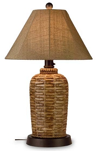 Patio Living 45933 Bamboo 33 Inch Table Lamp