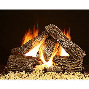 Bevengo GF-SO-18 18 Inch Split Oak Home Hearth Gas Logs