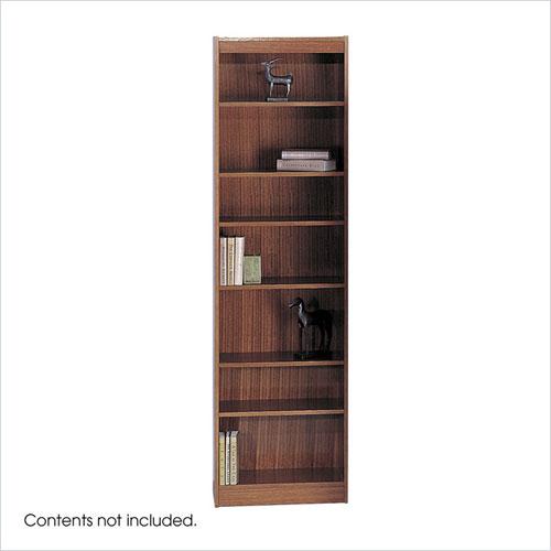 Safco 1515CYC WorkSpace 7-Shelf Baby Bookcase - 24 x 84 Inch - Cherry