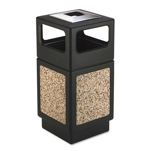 Safco 9473NC Canmeleon Collection 38 Gallon Side Open Receptacle