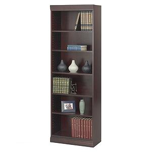 Safco 1582MH - 24 Inch Baby Bookcase Trim Kit In Mahogany