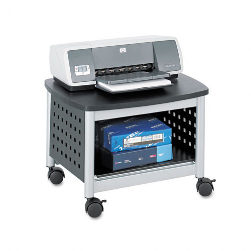 Safco 1855BL Scoot Underdesk Printer Stand in Black
