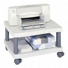 Safco 1861GR Under Desk Wave Printer Stand in Gray