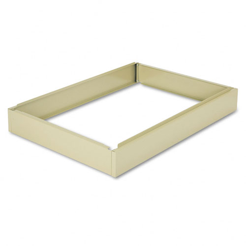 Safco 4997TSR Closed Base 6 Inch for 4986 and 4996 in Tropic Sand