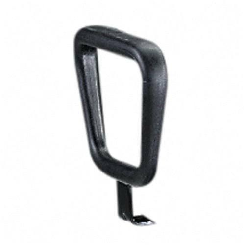 Safco 5143 Closed Loop Arm Rests  Set of 2  Black