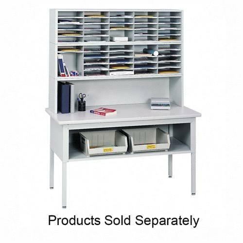 Safco 7750GR   Sorting Table Top - Gray