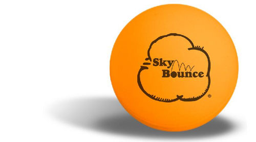 Sky Bounce 6485 Orange Ping Pong Ball - 6 Pack SKBB033