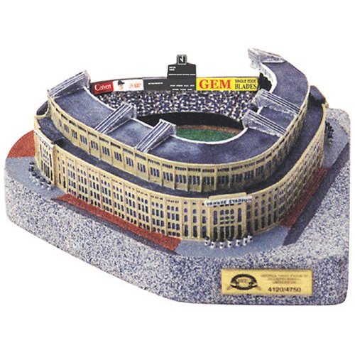 Paragon Innovations Co HistYankeeSPBB 4750 Limited Edition- Platinum Series stadium replica of 1923 Old Yankee Stadium- Former Home of the New York Yankees