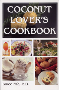Tribest GPBBF01 Coconut Lovers Cookbook By Bruce Fife N.D.