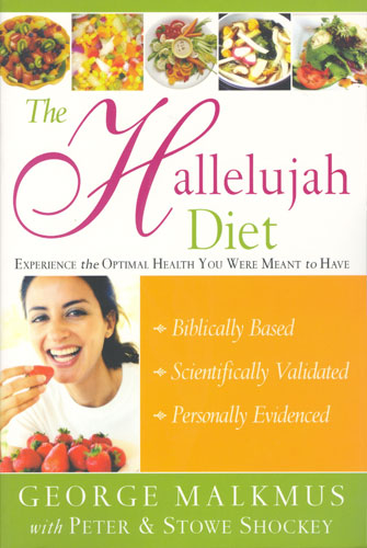 Tribest GPBGM06 Hallelujah Diet By Rev George Malkmus - Paperback Book