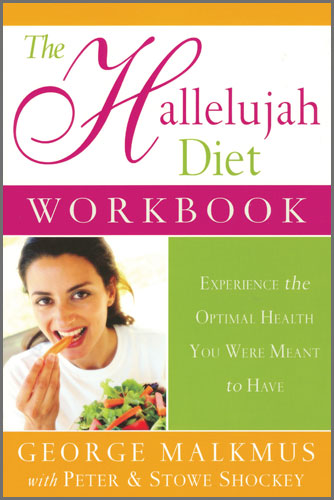 Tribest GPBGM07 The Hallelujah Diet Workbook By Rev George Malkmus