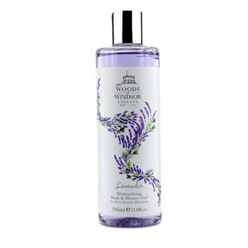 Woods Of Windsor 175702 Lavender Moisturising Bath & Shower Gel, 350 ml-11.8 oz